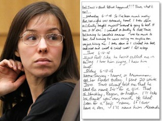 Jodi Arias Even Lied to Her Diary After Travis Alexander Was Dead