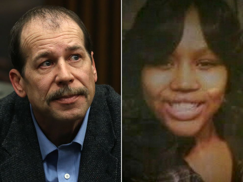 PHOTO: Theodore Wafer, left, is seen in court in this April 24, 2014 file photo where he is on trial for shooting Renisha McBride, right, in Dearborn, Mich. in November, 2013.