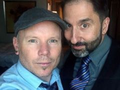 PHOTO: Aubrey Loots, 42, and Danny Leclair, 45, of Los Angeles will