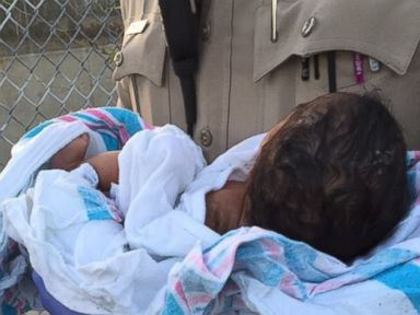 Newborn Girl Buried Alive Rescued in Los Angeles