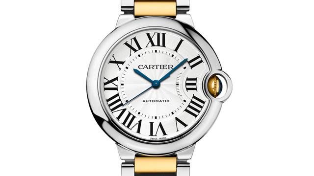 PHOTO: Ballon Bleu de Cartier Steel and Yellow Gold Watch