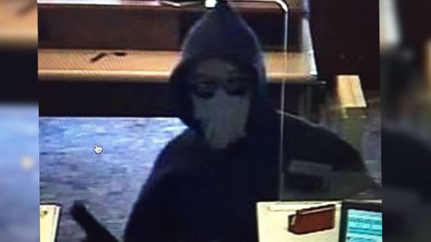 PHOTO: A robber dubbed the