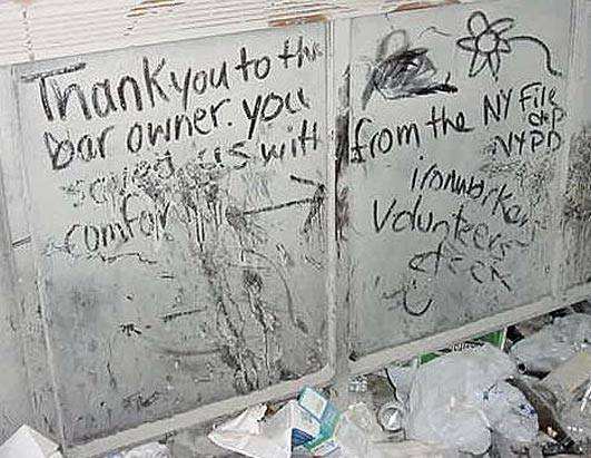 9/11 Dust Messages