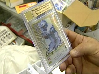 Couple Auctioning Rare Football Card to Pay for IVF