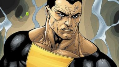 "PHOTO: DC Comics character Black Adam, seen here, will be played by Dwayne ""The Rock"" Johnson."