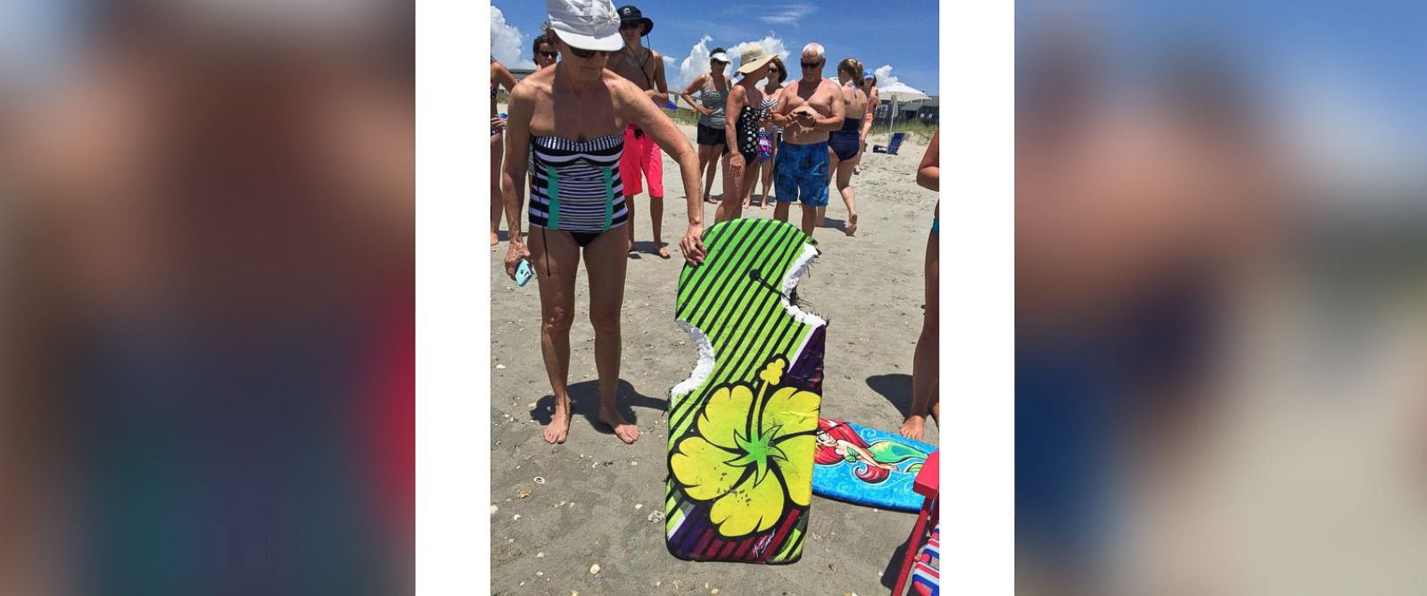 PHOTO: A girl was injured after reported shark attack in North Carolina.