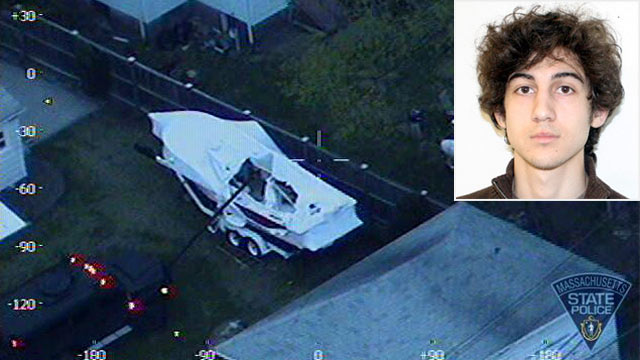 'F***' America,' Bomb Suspect Wrote in Boat: Officials
