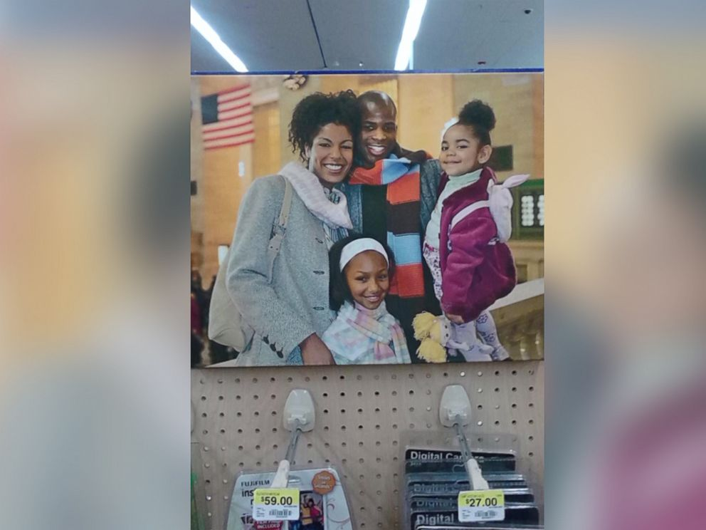 PHOTO: Victoria Bond, left, says family and friends continuously send her the various ads she has unknowingly been featured in.