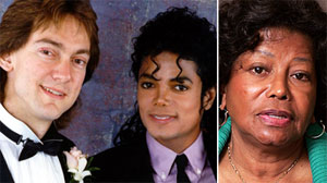John Branca, Michael Jackson and Katherine Jackson