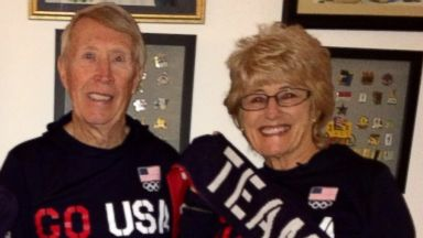PHOTO: Chuck and Judi Brandt will attend their 17th and 16th Olympics, respectively, in Sochi.