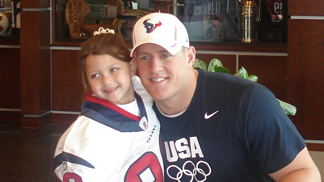 PHOTO: J.J. Watt and Breanna