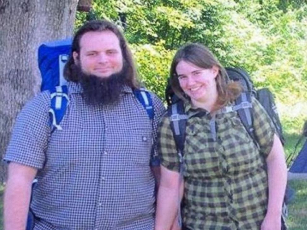 Caitlan Coleman and her husband Joshua Boyle are seen here in this undated family photo.