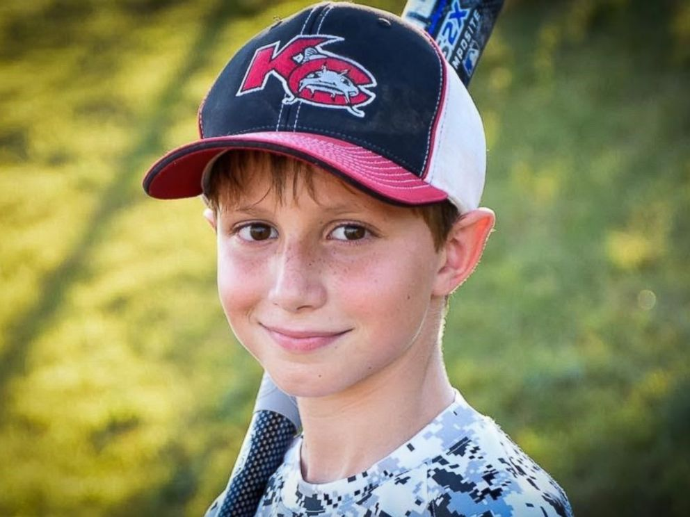 PHOTO: Caleb Schwab, 10, was killed in an accident on a ride at Schlitterbahn Water Park in Kansas City, Kansas, his family said on August 7, 2016.