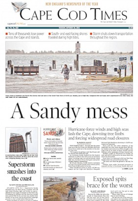 Newspapers Lead With Sandy