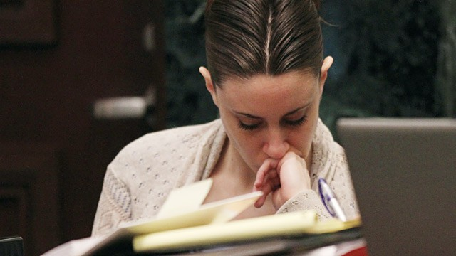 PHOTO: Casey Anthony in court