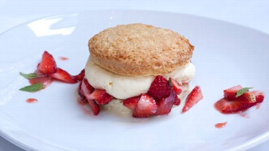 PHOTO: The Strawberry Shortcake featured at Catch is seen here.