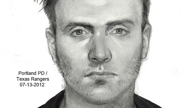 PHOTO: A new sketch of the man suspected of gunning down a lesbian couple was released after the lone survivior was better able to communicate following her brain injuries.