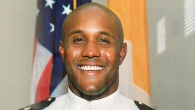 PHOTO: Former LAPD officer and U.S. Navy reservist Christopher Jordan Dorner, 33, is the suspect in the killings of Monica Quan, and her fiance Keith Lawrence.