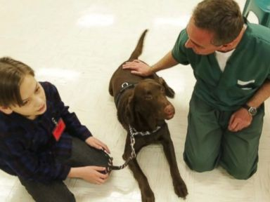 Convict Finds Redemption Training Dogs to Help Autistic Kids