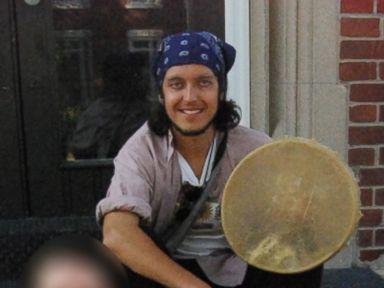 PHOTO: Alexander Ciccolo participates in peace walk in 2012.