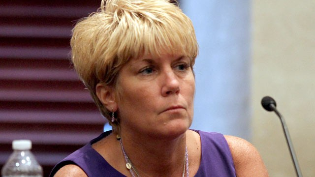PHOTO: Cindy Anthony testifies on day 26 of Casey Anthony's 1st-degree murder trial at the Orange County Courthouse in Orlando, Fla. on June 23, 2011.