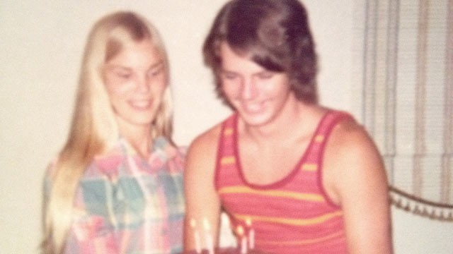 PHOTO: Nancy and Tim Bunnell, who have been together since their sophomore year in high school, circa 1973.