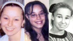 PHOTO: Undated handout photos provided by the FBI show Amanda Berry, left, and Georgina