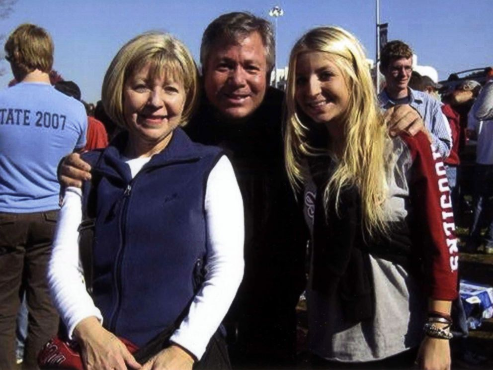 PHOTO: Charlene and Rob Spierer with their daughter Lauren.