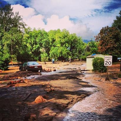 Flash Flooding Hits Colorado