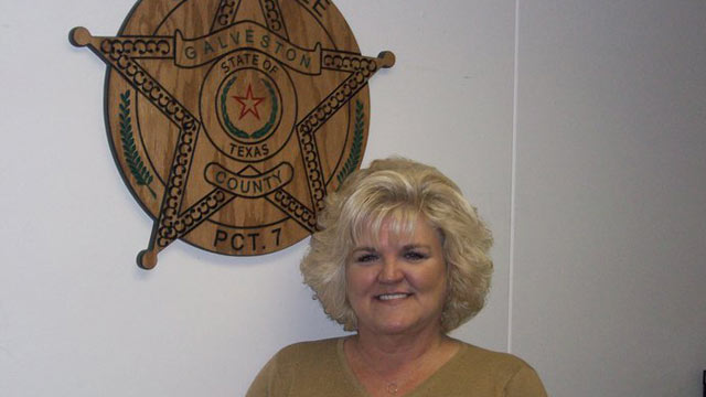 Pam Matranga, who is Constable of Galveston County, TX is being sued for sexual harassment by a former deputy.