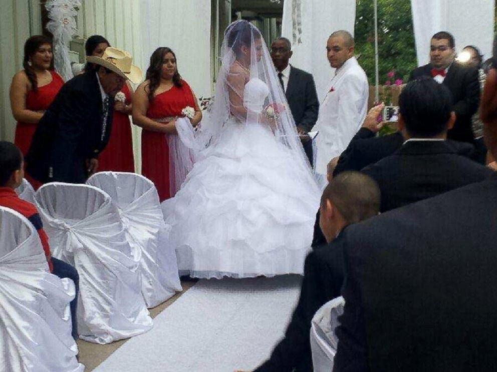 PHOTO: With Judy Wehrmans Wedding Gift, Raul And Savannah Martinez Were  Able To Enjoy