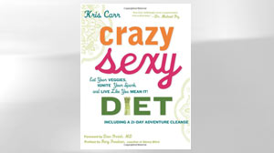 "PHOTO The cover for the book ""Crazy Sexy Diet"" by Kris Carr is shown."