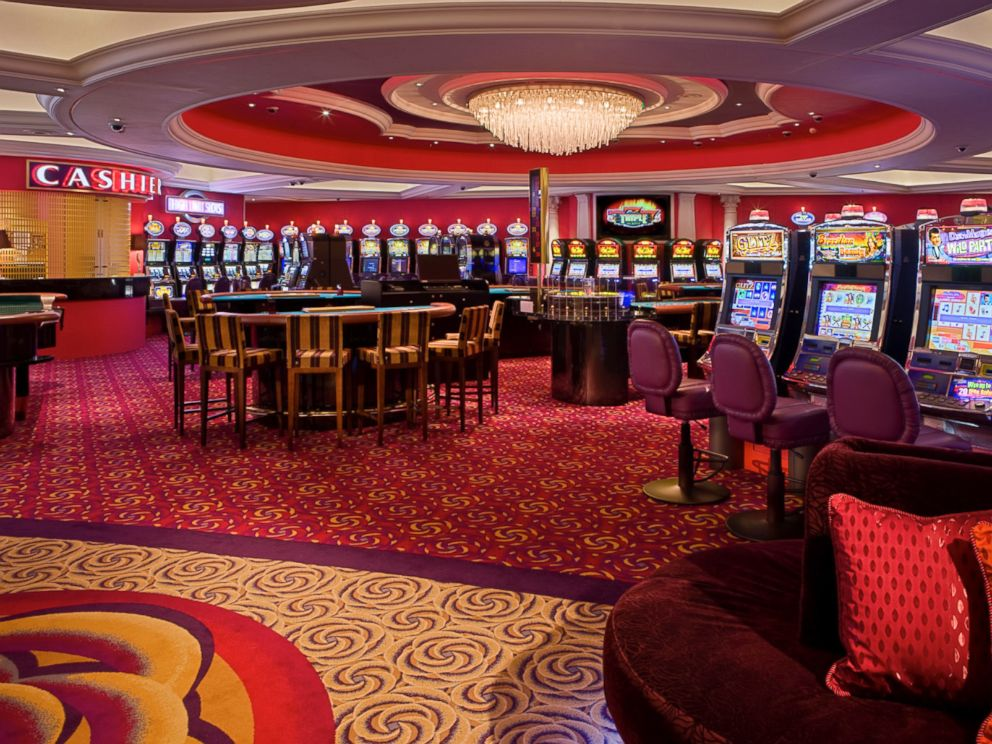PHOTO: The Crystal Serenitys casino is pictured.