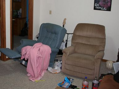 PHOTO: Photo of Matthew Barnetts family basement where the teens were drinking on the night of Jan. 8, 2012.