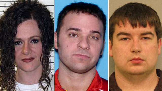 PHOTO: Christa Gail Pike, Donald Kohut and Justin Wesley are shown. Authorities in Tennessee say Kohut and Wesley, one a former prison guard, have been arrested in a plot to break out Tenn