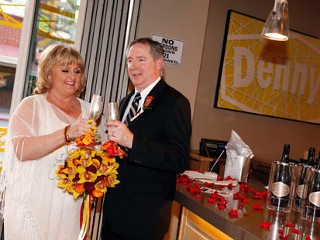 Couple Ties the Knot at Unusual Chapel