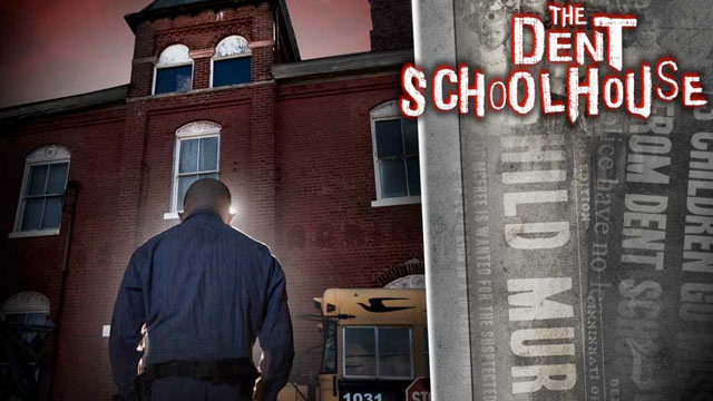 PHOTO: Formerly a school, the Dent Schoolhouse, which shut down in the fifties, became a haunted house 20 years ago.
