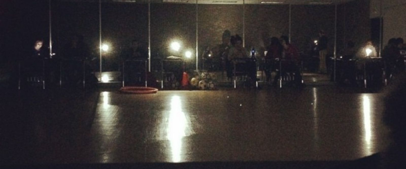 "PHOTO: Instagram user le.gax posted this photo on Dec. 2, 2014 with the caption, ""Power goes out during class? No problem! to the rescue #wsu #lightsout #ghettostyle #detroit"""