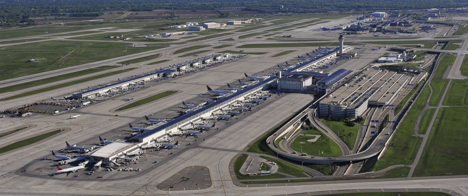 PHOTO:Detroit Metropolitan Wayne County Airport, in an undated photo.