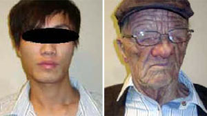 "PHOTO An elderly, wrinkled white man boarded a plane in Hong Kong and a young, baby-faced Asian deplaned in Vancouver, in what Canadian authorities are calling an ""unbelievable"" case of disguised identity."