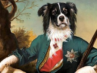 Photos: Classical Canine: Regal Pet Portraits