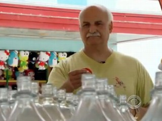Michigan Man Uses Carnival Skills to Win Toys For Kids