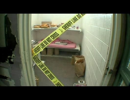Jodi Arias Inside Jail Cell