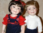 PHOTO: Connie Feda and Karen Scott have created look-alike dolls for kids with Down syndrome that develop their motor skills.