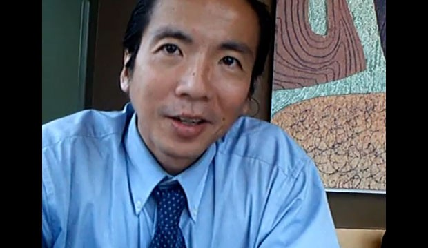 PHOTO: Dr. Andrew Chung has a conversation on the beauty of hunger in this YouTube video.