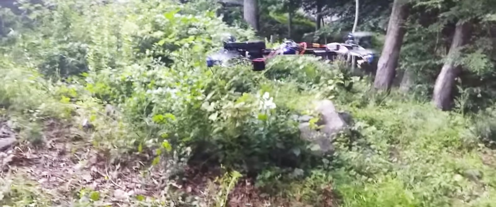 "PHOTO: Video posted on YouTube July 10, 2015, and titled ""Flying Gun"" shows a drone with a semi-automatic handgun mounted and firing remotely."