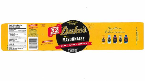 ht dukes mayo label sr 140403 16x9 608 Mans Last Wish to be Buried in Mayonnaise Jar