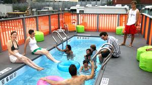 PHOTO New York provides dumpster pools.