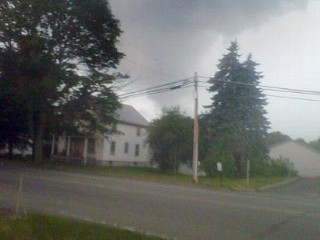 Photos: Severe Weather: Possible Twister, Elmira, N.Y.