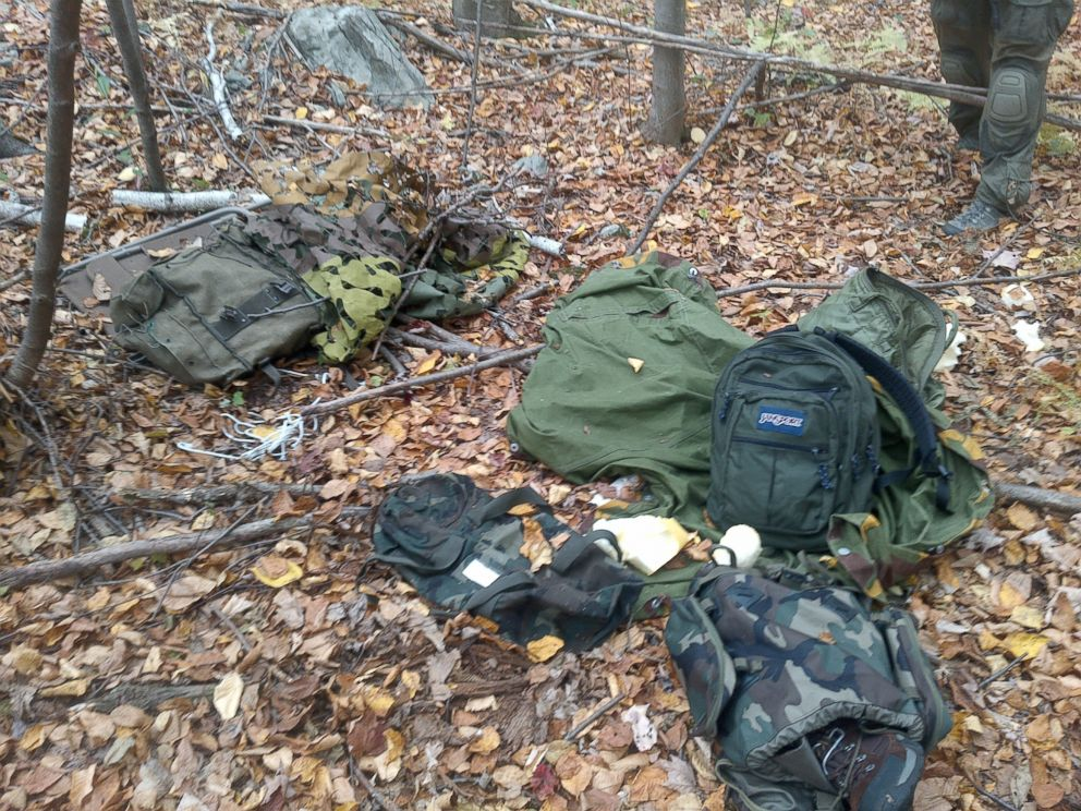 PHOTO: This handout photo provided by the Pennsylvania State Police shows a campsite believed to belong to Eric Frein, Oct. 3, 2014.
